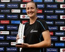 Rachel Candy took 5 for 19 off ten overs to help defeat Pakistan, New Zealand v Pakistan, Women's World Cup, Group B, Cuttack, February 3, 2013