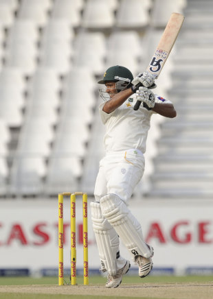 Asad Shafiq made his seventh Test half-century, South Africa v Pakistan, 1st Test, Johannesburg, 3rd day, February 3, 2013