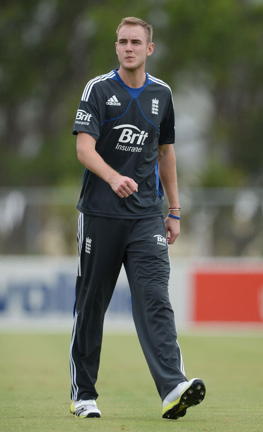 Stuart Broad was able to train ahead of England's first tour match