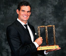 Clint McKay won the ODI player of the year award, Melbourne, February 4, 2013