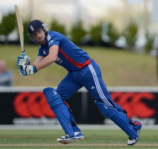 Jos Buttler flicks during his half-century, New Zealand XI v England XI, Twenty20, Whangarei, February 5, 2013