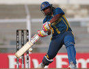 Sri Lanka's Eshani Kaushalya scored a quick 56, India v Sri Lanka, Women's World Cup 2013, Group A, Mumbai, February 5, 2013.