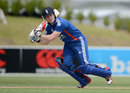Eoin Morgan made 48 off 32 balls, New Zealand XI v England XI, Twenty20, Whangarei, February 5, 2013