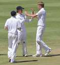 Oli Stone took his match haul to 11 wickets, South Africa U-19s v England U-19s, 2nd Youth Test, Paarl, 3rd day, February 5, 2013