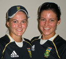 Dane van Niekerk  and Marizanne Kapp were involved in a record stand for South Africa, Pakistan v South Africa, Women's World Cup 2013, Group B, Cuttack, February 5, 2013