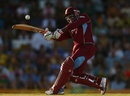 Devon Thomas pulls off the front foot, Australia v West Indies, 3rd ODI, Canberra, February 6, 2013