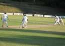Peter Burgoyne resisted Mountaineers' bowling attack as wickets fell around him, Mountaineers v Southern Rocks, Logan Cup, Mutare, 2nd day, February 6, 2013