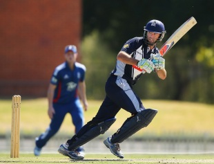 Rob Quiney's hundred steered Victoria to an easy win, Victoria v England Lions, Melbourne, Feb 7, 2013