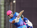 Ryan ten Doeschate launches during his unbeaten 95, Chittagong Kings v Khulna Royal Bengals, BPL, Mirpur, February 7, 2013