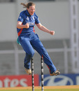 Anya Shrubsole took three wickets before taking England close to a win with a handy knock