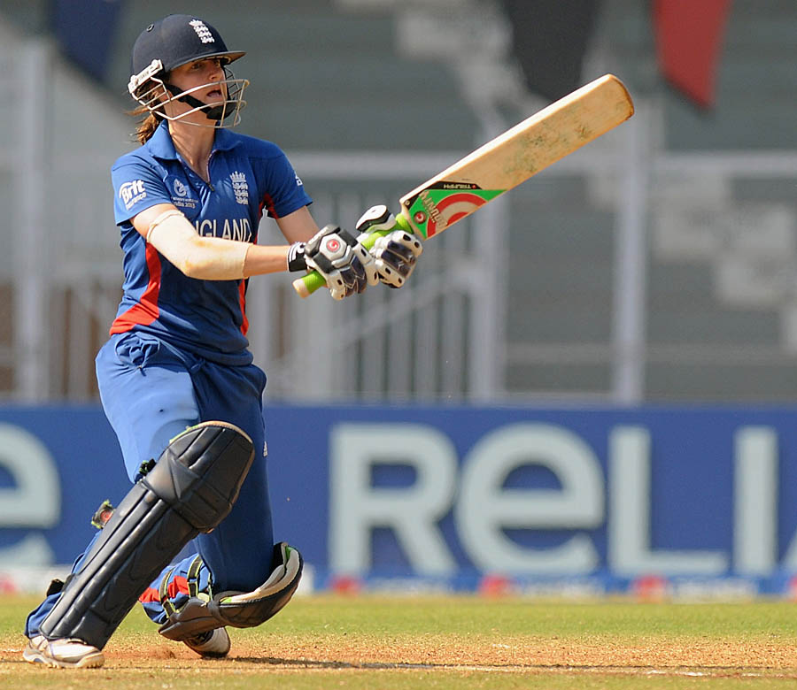 Lydia Greenway kept England in the hunt, scoring 49