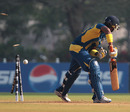 Chamari Atapattu was bowled for a duck