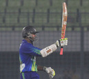 Shivnarine Chanderpaul scored a half-century, Sylhet Royals v Chittagong Kings, Bangladesh Premier League 2012-13, Mirpur, February 7, 2013