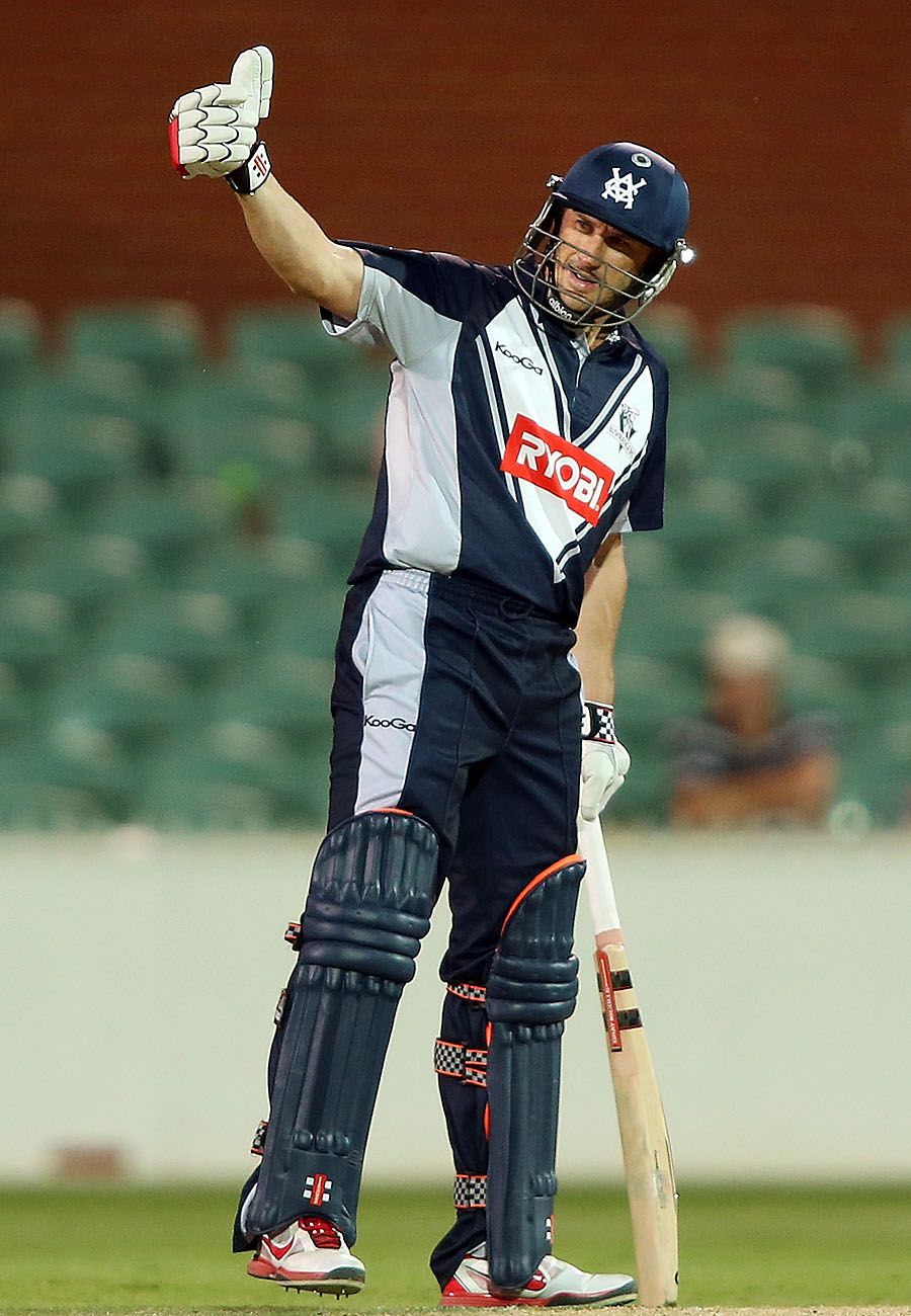 David Hussey scored a valuable 86