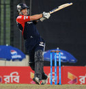 Cameron Borgas pulls during his 48, Chittagong Kings v Rangpur Riders, BPL, Mirpur, February 9, 2013