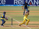 Australia batsman Rachael Haynes scored an unbeaten 71, Australia v Sri Lanka, Super Six match, Women's World Cup 2013, Mumbai,  February 10, 2013