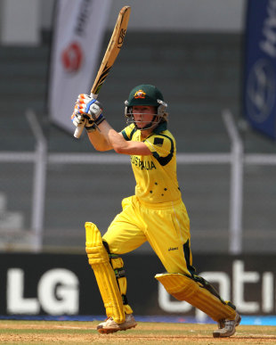 Rachael Haynes steered Australia to victory, Australia v Sri Lanka, Super Six match, Women's World Cup 2013, Mumbai,  February 10, 2013