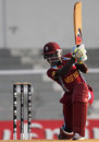 Stafanie Taylor drives through the off side, New Zealand v West Indies, Super Six match, Women's World Cup 2013, Mumbai,  February 11, 2013