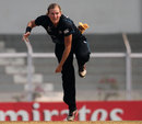 Morna Nielsen was the most successful of the New Zealand bowlers, New Zealand v West Indies, Super Six match, Women's World Cup 2013, Mumbai,  February 11, 2013