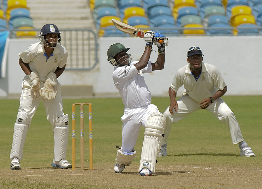 Jamaican batsman Jermaine Blackwood scored 81 in the first innings