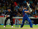Jos Buttler hit his first international half-century, New Zealand v England, 2nd T20, Hamilton, February 12, 2013
