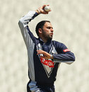 Fawad Ahmed claimed 2 for 21, Victoria v England Lions, Tour match, Melbourne, February 13, 2013