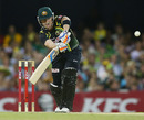 Brad Haddin hit three boundaries in his quickfire 22, Australia v West Indies, only Twenty20, Brisbane, February 13, 2013