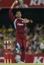 Sunil Narine bowled an economical spell of 2 for 19