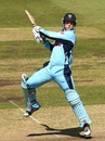 Nic Maddinson cuts, NSW v SA, Ryobi Cup, Sydney, February 14, 2013