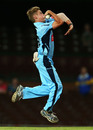 Adam Zampa impressed with his legspin, taking 3 for 55, NSW v SA, Ryobi Cup, Sydney, February 14, 2013