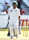 Asad Shafiq reaches his century, South Africa v Pakistan, 2nd Test, Cape Town, 1st day, February 14, 2013