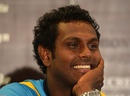 Sri Lanka's new Test and ODI captain Angelo Mathews