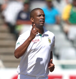 Vernon Philander needs 13 wickets at Centurion to equal George Lohmann's record for the fastest to 100 Test wickets