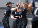 Lucy Doolan celebrates, England v New Zealand, Women's World Cup 2013, 3rd place play-off, Mumbai, February 15, 2013
