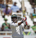 Tanvir Ahmed led Pakistan's resistance on the second morning, South Africa v Pakistan, 2nd Test, Cape Town, 2nd day, February 15, 2013