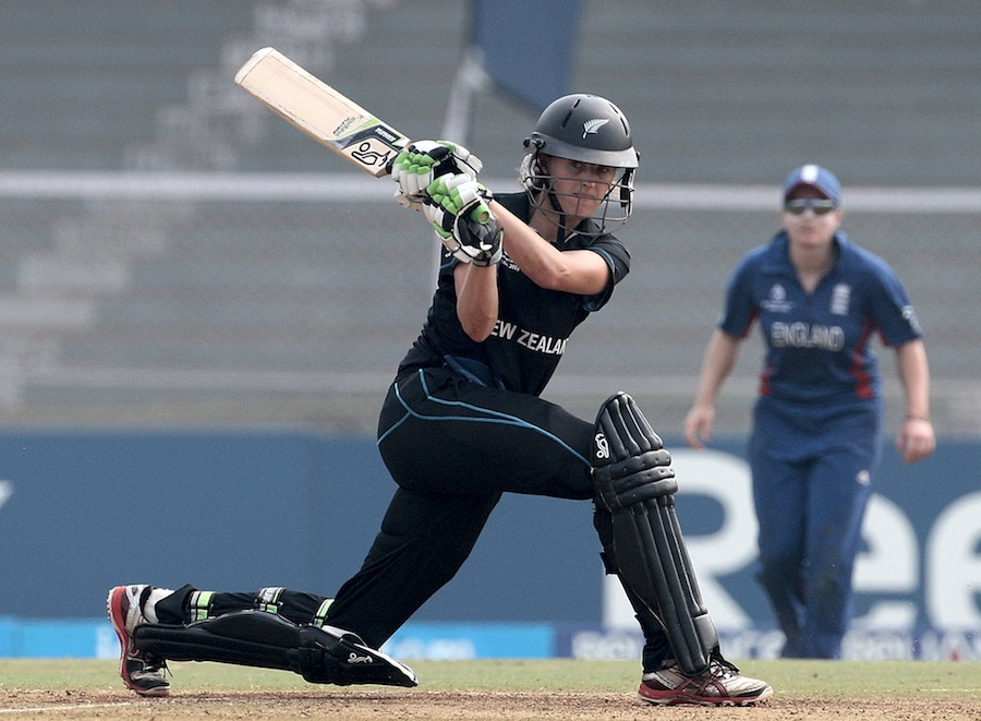Amy Satterthwaite top scored for New Zealand with 85