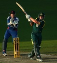 Shaun Marsh goes on the attack, Australia A v England Lions, Hobart, February 16, 2013