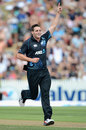 Mitchell McClenaghan struck early to remove Alastair Cook, New Zealand v England, 1st ODI, Hamilton, February 17, 2013