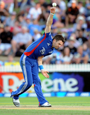 James Anderson now has the most international wickets by an England bowler, New Zealand v England, 1st ODI, Hamilton, February 17, 2013