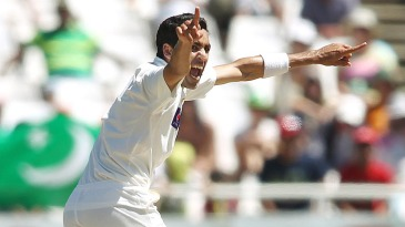 Umar Gul removed Alviro Petersen early