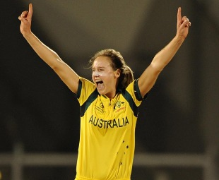 Ellyse Perry hurt West Indies' chase with early wickets, Australia v West Indies, Final, Women's World Cup final, Mumbai, February 17, 2013