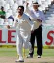 Saeed Ajmal kept Pakistan in the hunt with crucial top-order wickets, South Africa v Pakistan, 2nd Test, Cape Town, 4th day, February 17, 2013