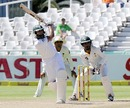 Hashim Amla plays an attacking stroke, South Africa v Pakistan, 2nd Test, Cape Town, 4th day, February 17, 2013