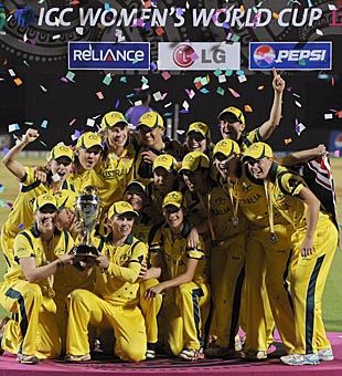 Australia women beat West Indies to win World Cup 2013