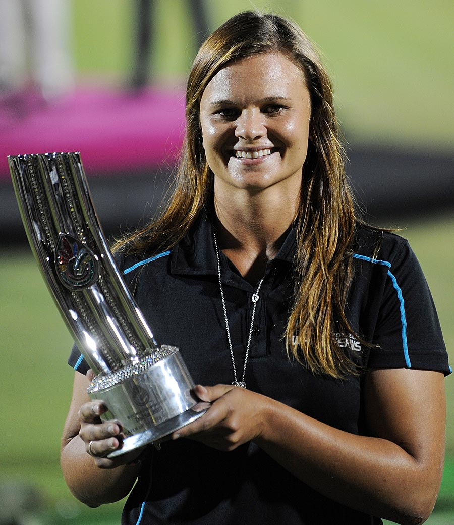 ... the Player of the Tournament trophy | Cricket Photo | ESPN Cricinfo