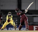 Deandra Dottin plays an aggressive shot, Australia v West Indies, Final, Women's World Cup 2013, Mumbai, February 17, 2013