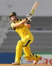 Ellyse Perry played a handy knock of 25, Australia v West Indies, Final, Women's World Cup 2013, Mumbai, February 17, 2013