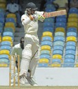 Tagenarine Chanderpaul cuts, Barbados v Guyana, Regional Four Day Competition, 2nd day, Barbados, February 16, 2013