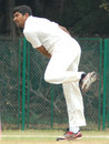Rakesh Dhurv took 5 for 51 for India A, India A v Australians, Tour game, 3rd day, Chennai, February 18, 2013