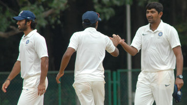 The India A spinners made the Australians follow-on